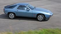 Porsche 928 S, Seitenansicht