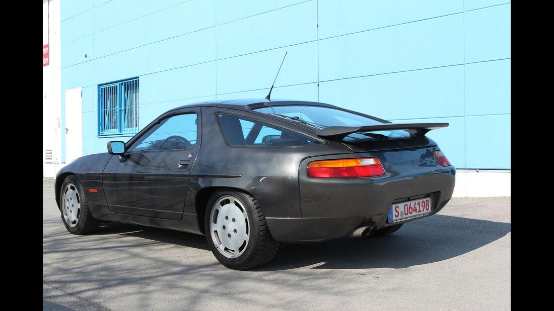 Porsche 928 S4, Heck, Heckspoiler
