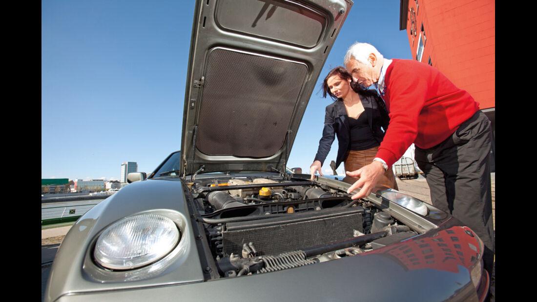 Porsche 928 S4, Motor
