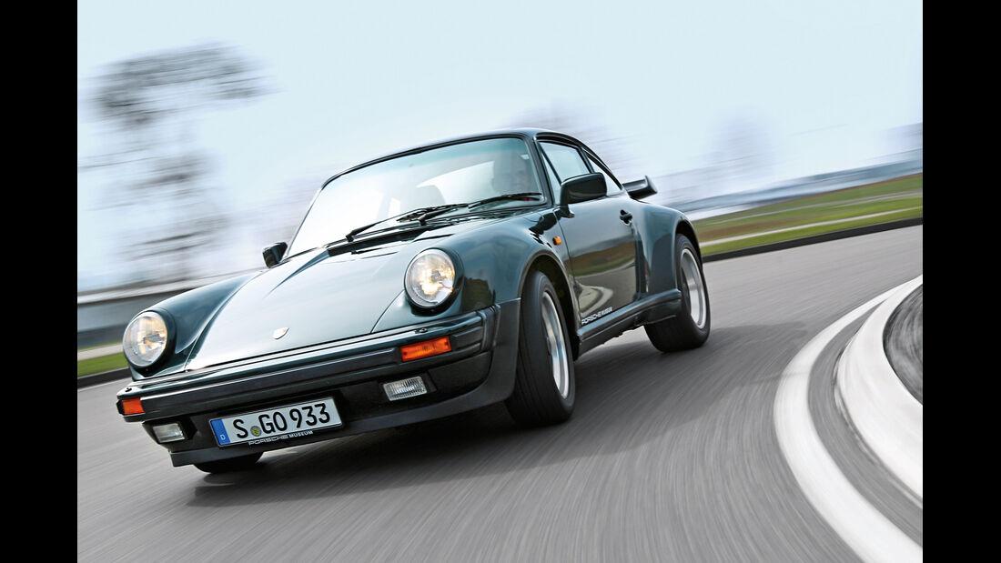 Porsche 930 Turbo, Frontansicht