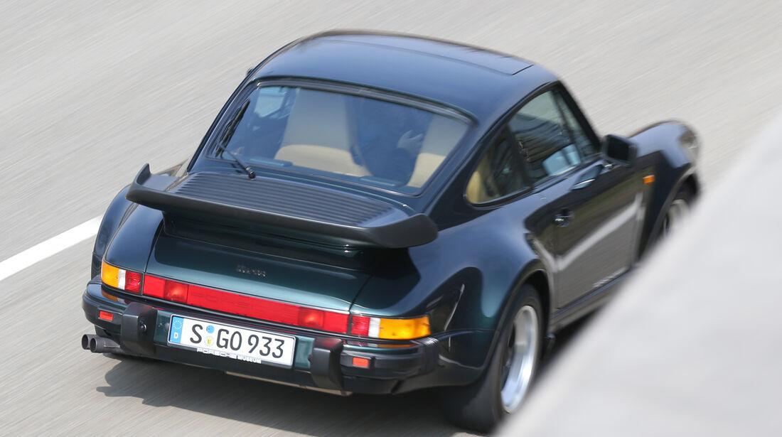 Porsche 930 Turbo, Heckansicht