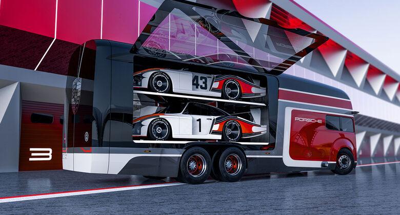 Porsche 935 Renntransporter