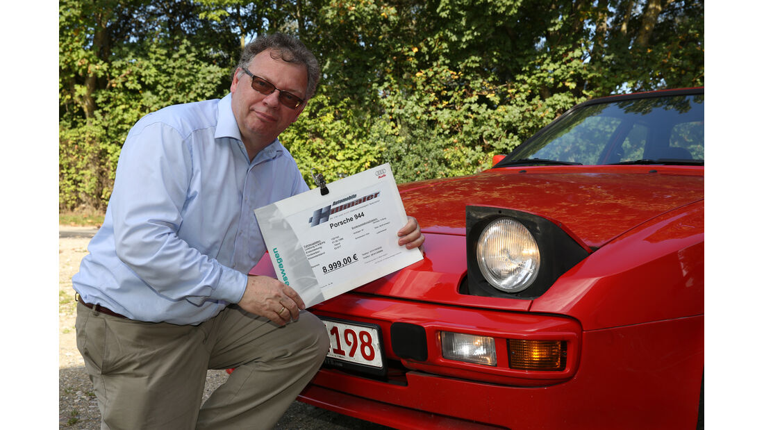 Porsche 944, Alf Cremers, Klappscheinwerfer