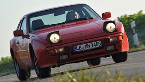 Porsche 944, Frontansicht, Frontscheinwerfer