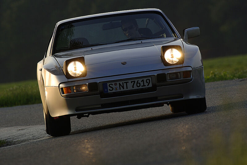 Porsche 944 Frontansicht