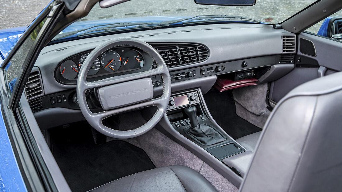Porsche 944, Interieur