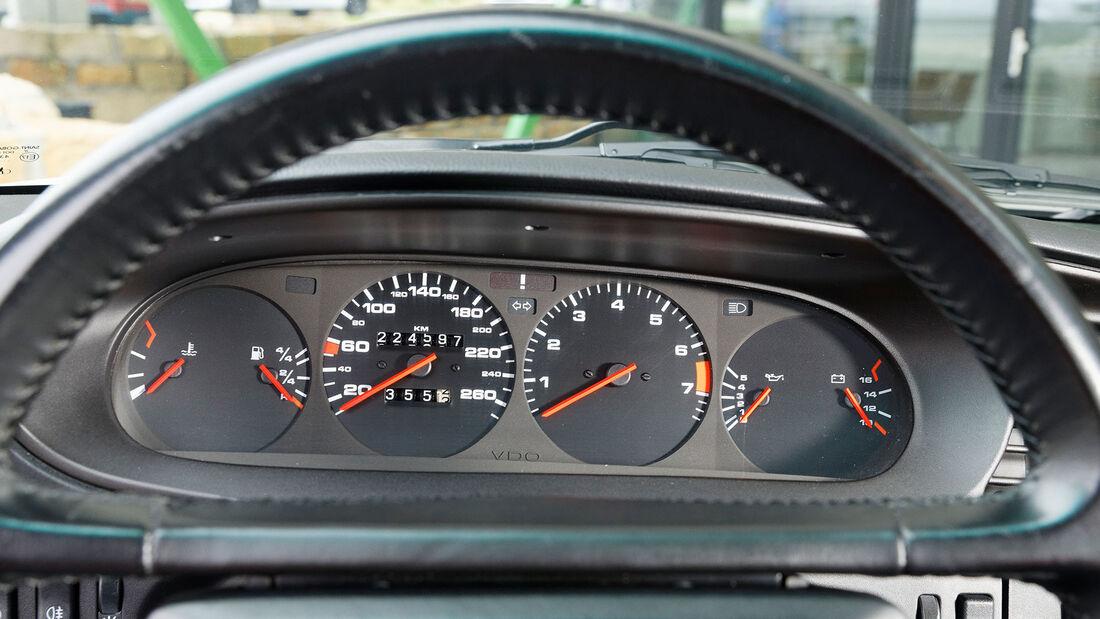 Porsche 944 S2, 1991, Cockpit, Tacho