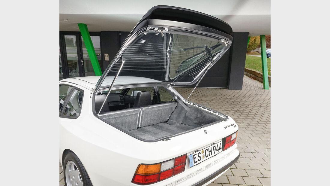 Porsche 944 S2, 1991, Kofferraum, Heckklappe