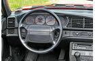 Porsche 944 S2 Cabrio, Cockpit, Lenkrad