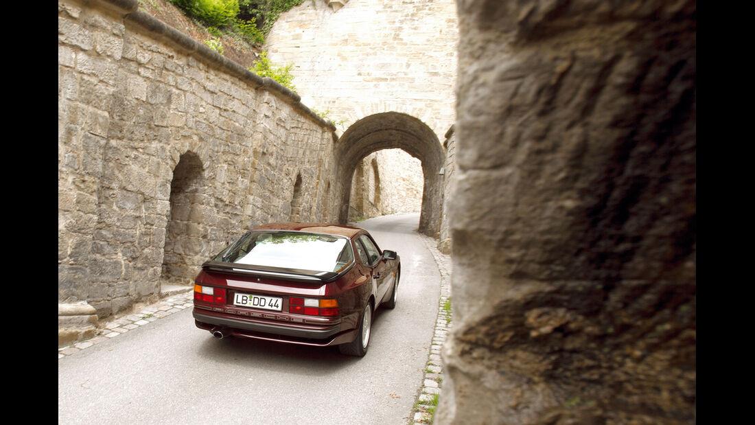 Porsche 944 S2, Heckansicht
