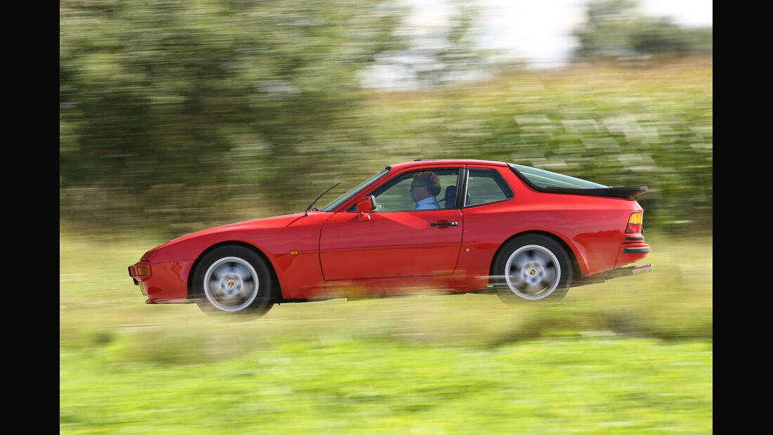 Porsche 944, Seitenansicht