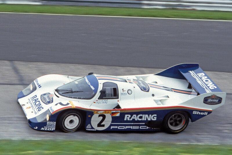 Porsche 956/962, Seitenansicht