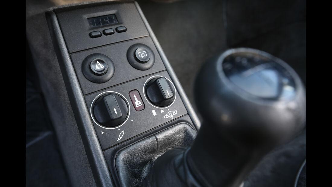 Porsche 959, Bedienelemente