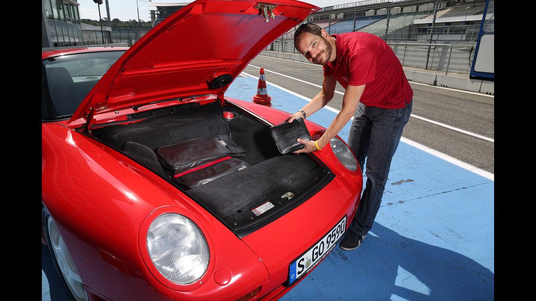 Porsche 959, Exterieur, Kofferraum