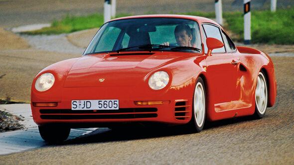 Porsche 959, Frontansicht