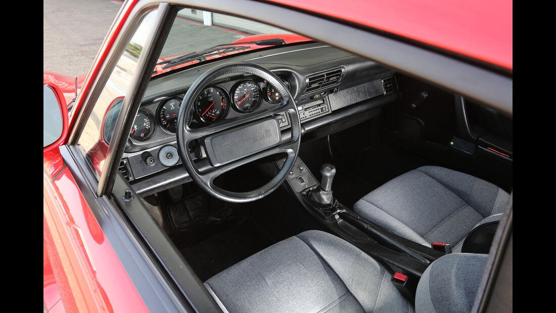 Porsche 959, Interieur