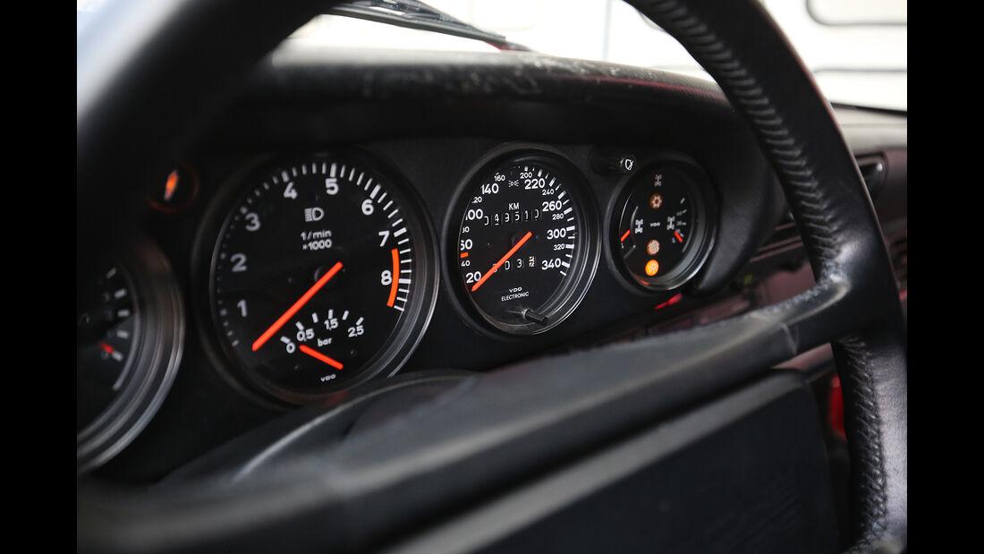 Porsche 959, Interieur, Tacho
