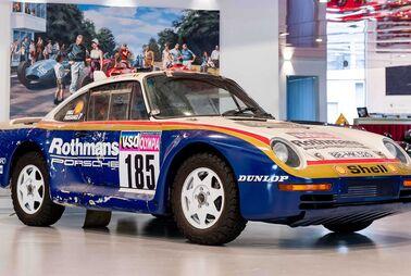 Mit diesem Porsche crashte Jacky Ickx