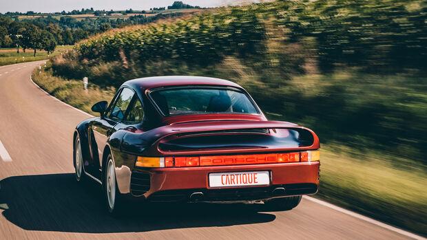 Porsche 959 Prototyp F7 (1985) Rubinrot