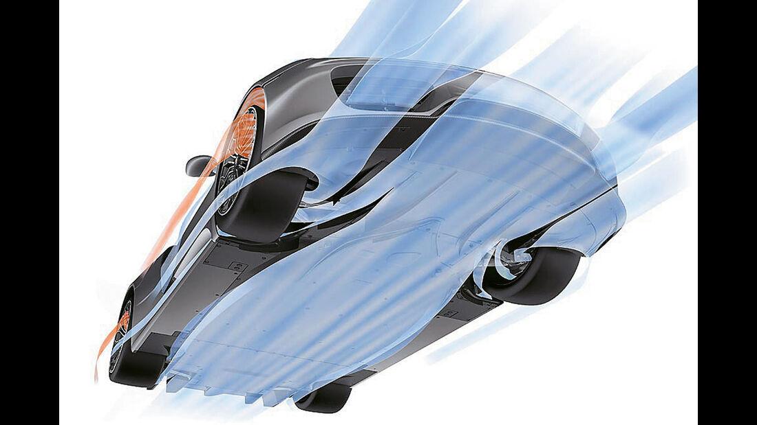 Porsche 960, Aerodynamik