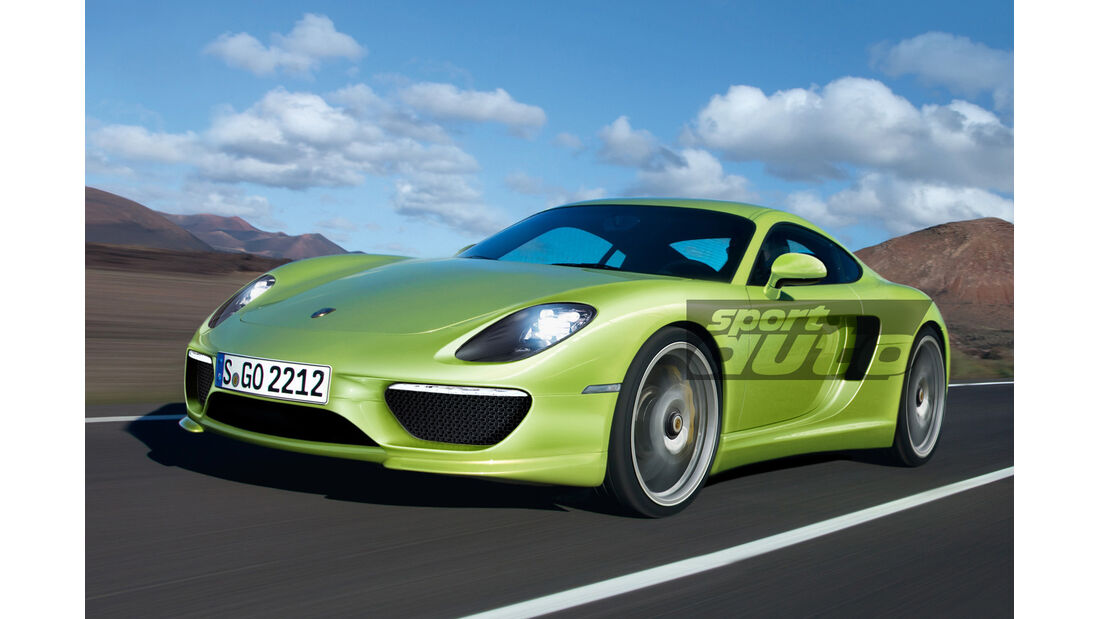 Porsche 960, Frontansicht