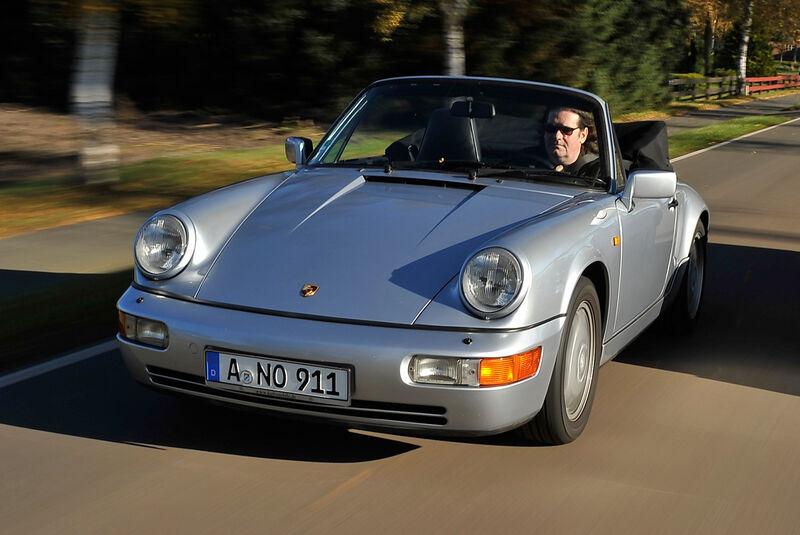 Porsche 964 Cabrio, Frontansicht