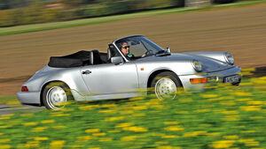 Porsche 964 Cabrio, Seitenansicht