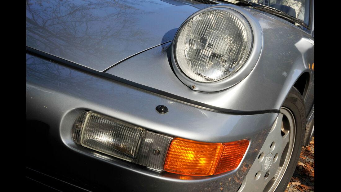 Porsche 964 Carrera 2 Cabrio, Frontscheinwerfer