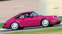 Porsche 964 Carrera RS, Seitenansicht