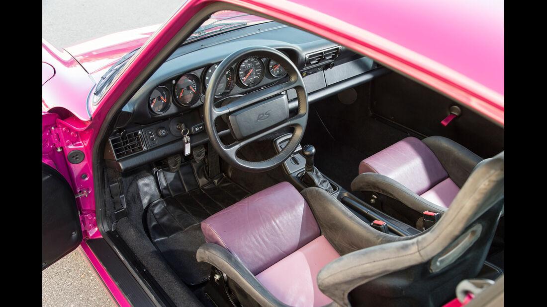 Porsche 964, Cockpit, Fahrersitz