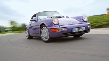 Porsche 964, Frontansicht
