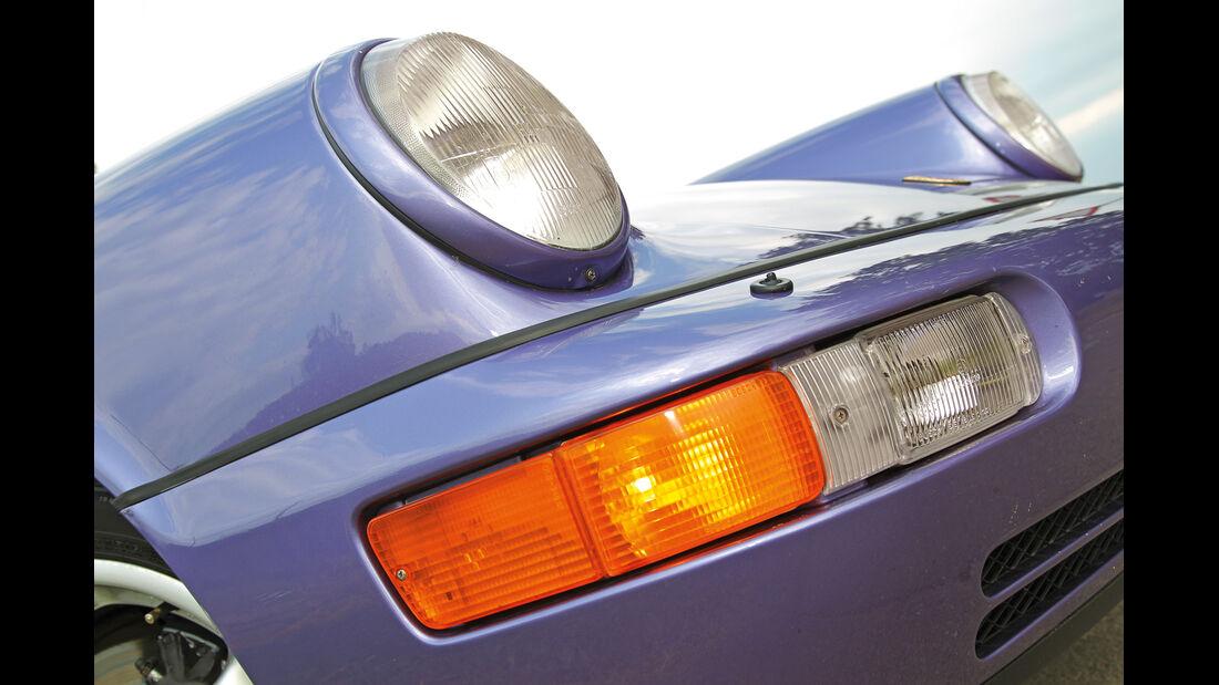 Porsche 964, Frontscheinwerfer
