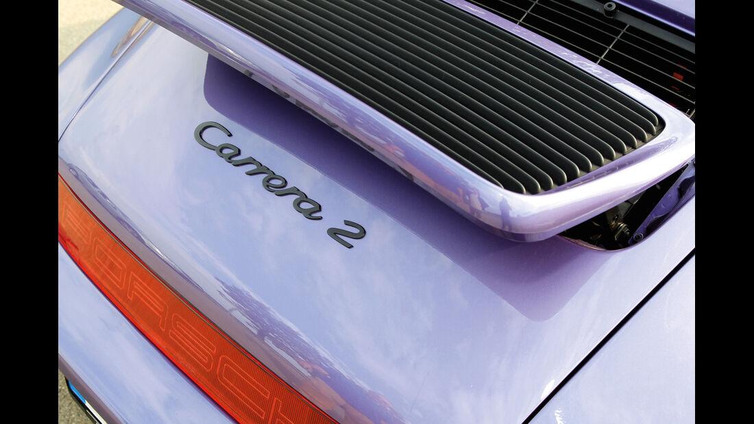 Porsche 964, Heckspoiler, Typenbezeichnung