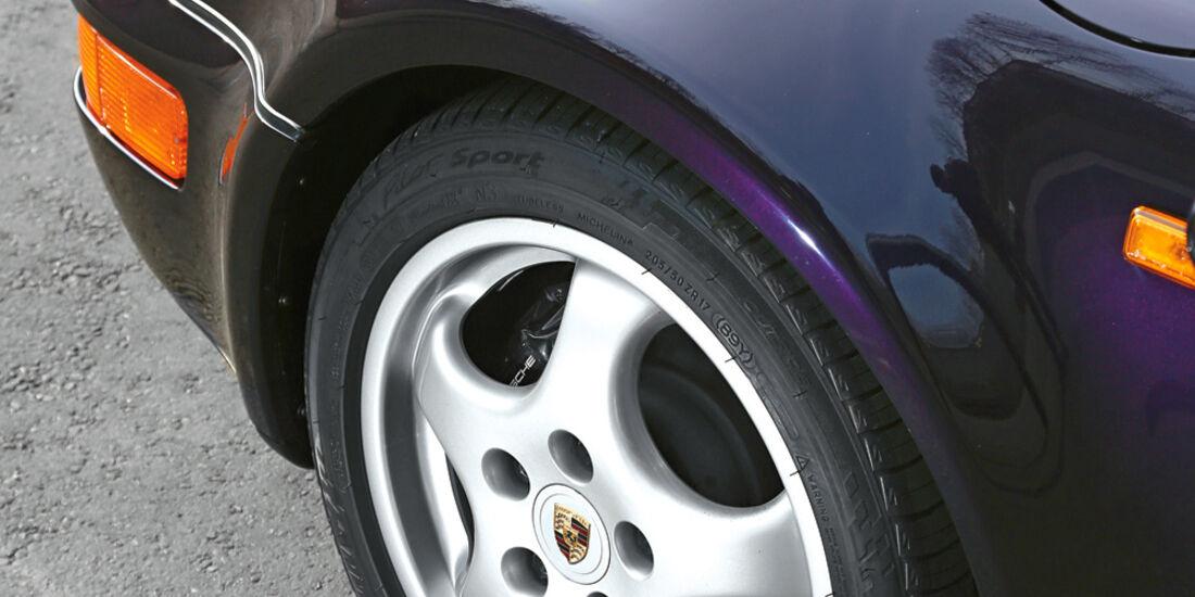 Porsche 964, Rad, Felge