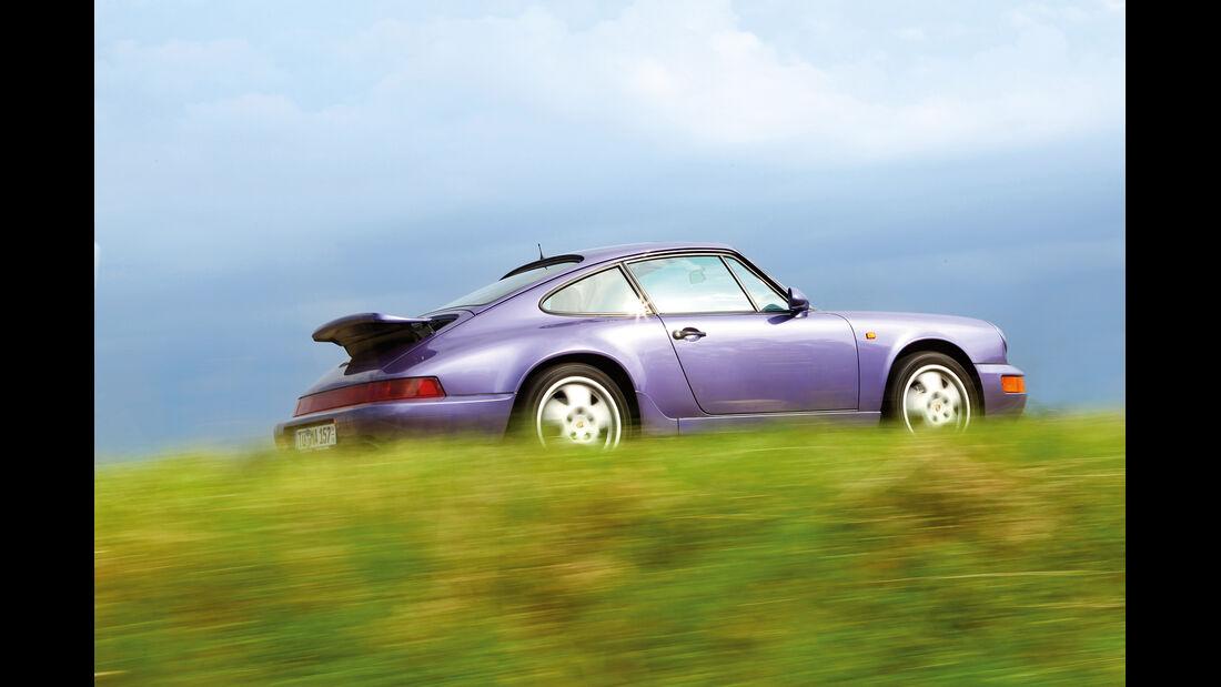 Porsche 964, Seitenansicht