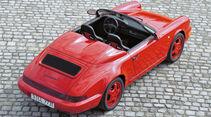 Porsche 964 Speedster, Seitenansicht