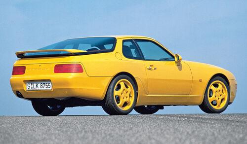 Porsche 968 CS, Seitenansicht