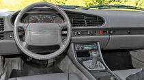 Porsche 968 Coupé, Lenkrad, Cockpit