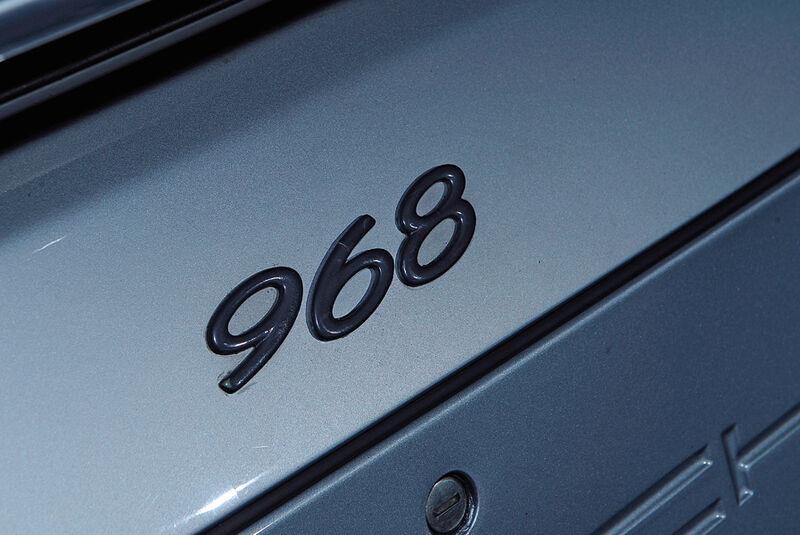 Porsche 968, Detail, 968 Logo