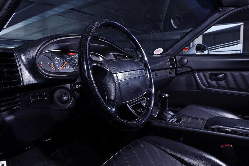 Porsche 968, Detail, Cockpit