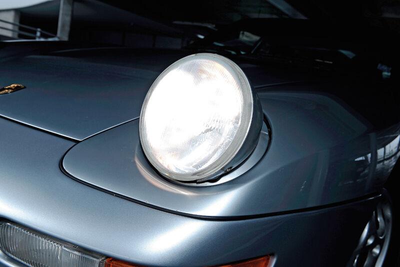 Porsche 968, Detail, Frontlicht