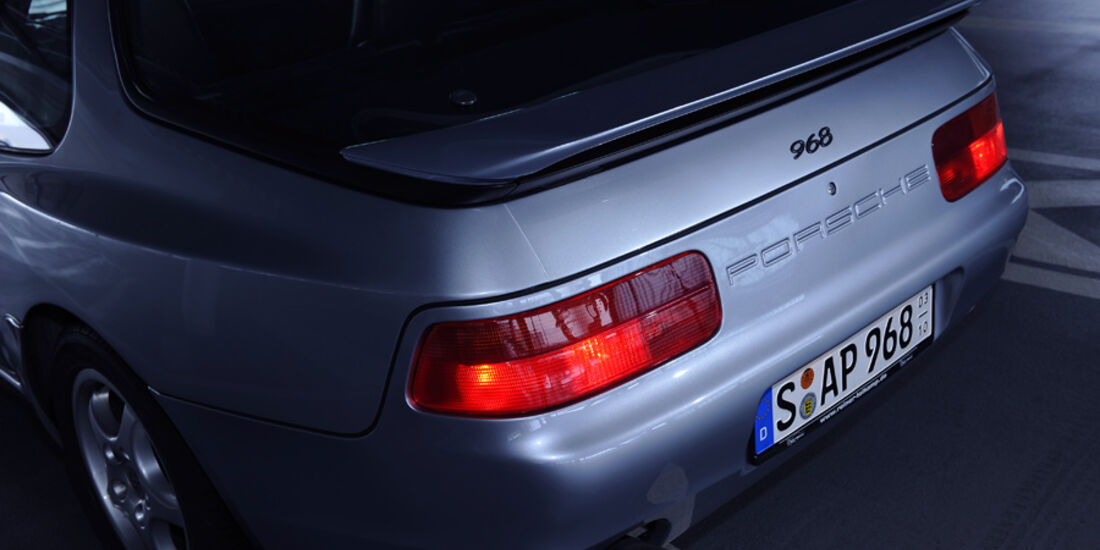 Porsche 968, Detail, Heck, Hecklichter