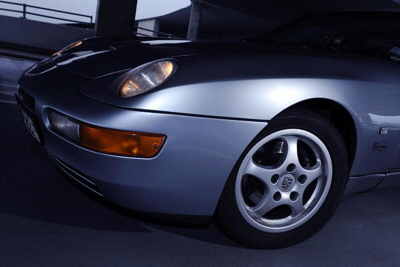 Porsche 968, Detail, Rad, Frontlichter