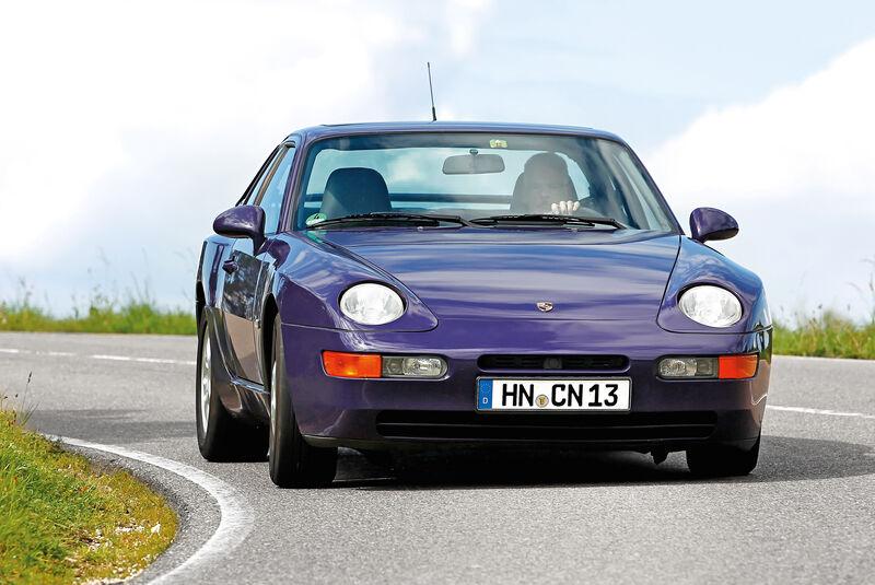 Porsche 968, Frontansicht
