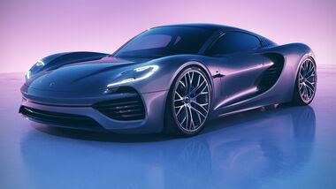Porsche 988 Mittelmotor Concept