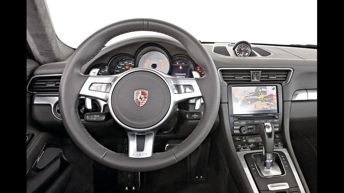 Porsche 991, Cockpit