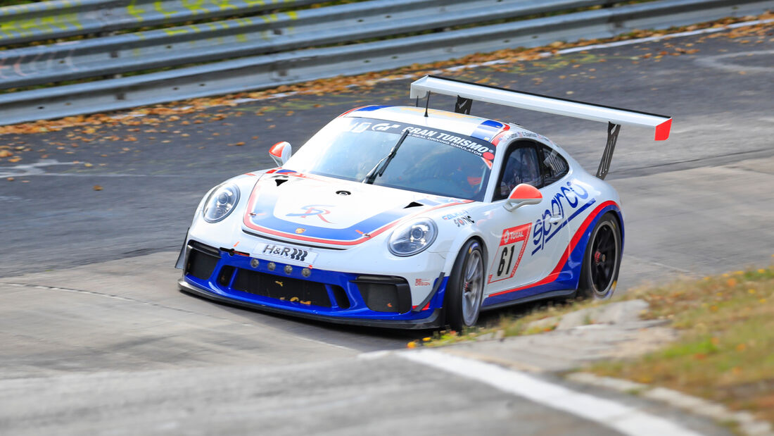 Porsche 991 Cup Gen 2 - CP Racing - Startnummer #61 - Klasse: SP7 - 24h-Rennen - Nürburgring - Nordschleife - 24. bis 27. September 2020