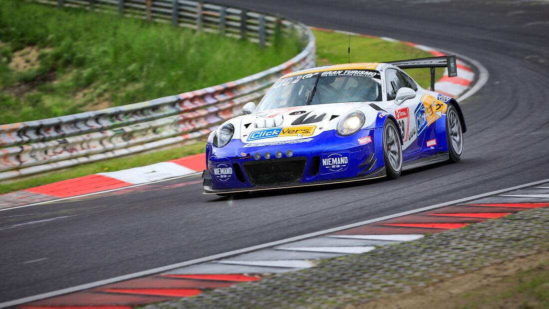 Porsche 991 GT3 Cup MR - Clickversicherung TEAM - Startnummer #69 - Klasse: SP 7 - 24h-Rennen - Nürburgring - Nordschleife - 03. - 06. Juni 2021