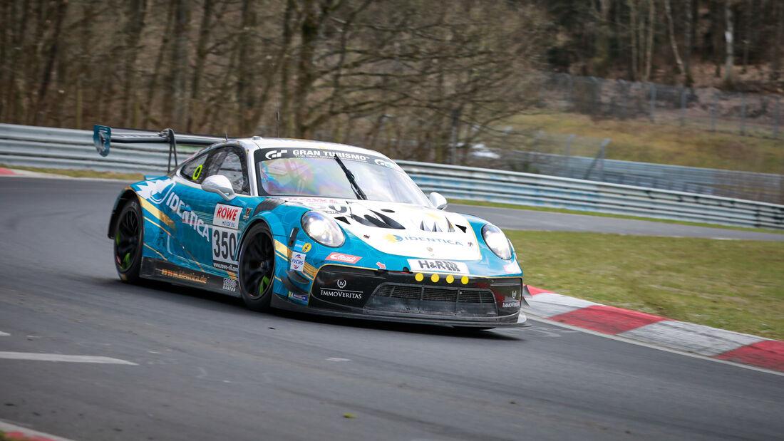 Porsche 991 GT3 Cup MR - Startnummer #350 - Black Falcon Team IDENTICA - SP Pro - NLS 2021 - Langstreckenmeisterschaft - Nürburgring - Nordschleife