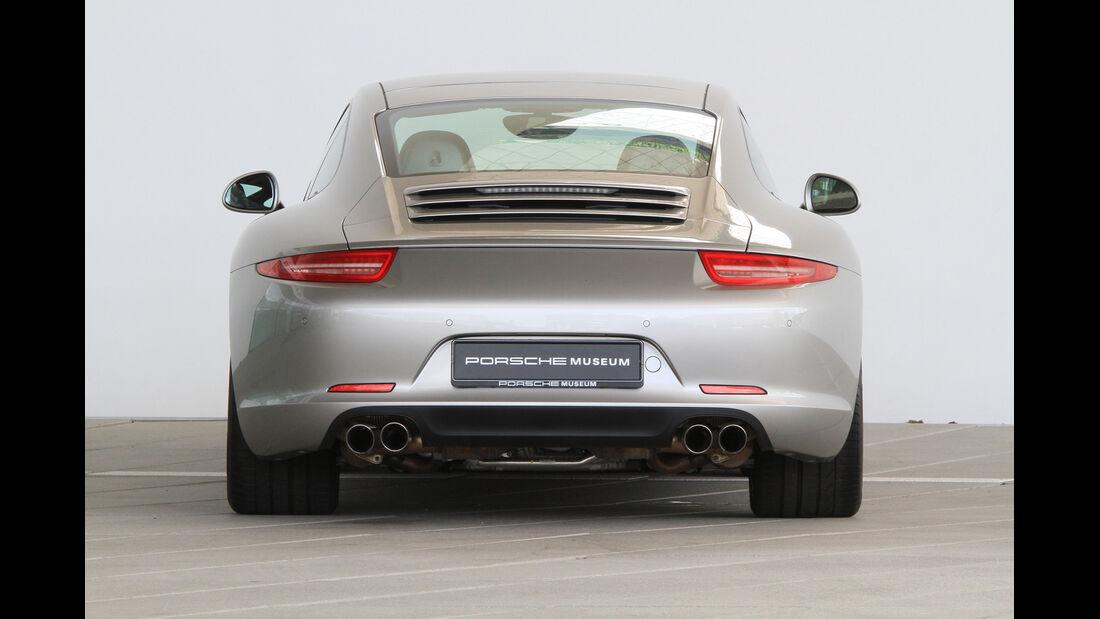 Porsche 991, Heckansicht